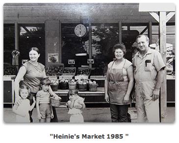 Heinies Farmers Market Denver 1985 Family Photo.